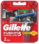 Cменные кассеты Gillette Fusion5 ProGlide Power , 2 шт