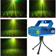 Лазерный проектор Laser Stage Lighting mini Рисунки